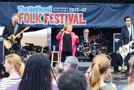 Mavis Staples at the National Folk Festival